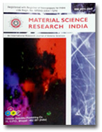 Material Science Research India (MSRI) Journal