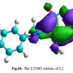 Fig.6b. The LUMO orbitals of L1